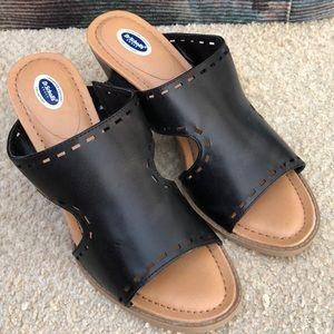 Dr Scholl's black sandals